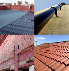 otros trabajos, impermeabilizaciones, canalizaciones, refuerzos estructurales, tejados, cubiertas